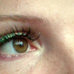 Värvi sügisesse, roheline, kollane, sädelev disainripse, okt.2013
